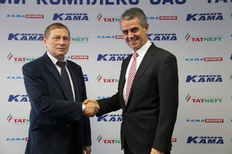 Marangoni and Tatneft to establish joint venture in tire retreading in Russia