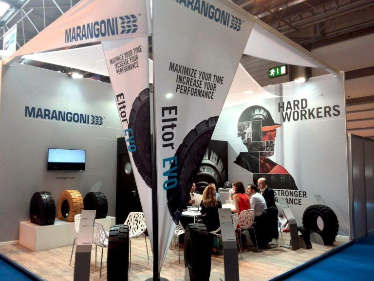 """Die """"Hard workers"""" von Marangoni erobern Birmingham."""