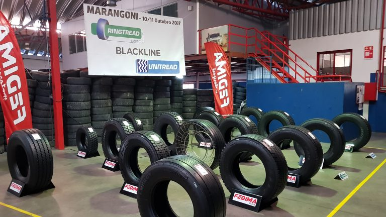 Marangoni and Fedima join forces to demonstrate the convenient mileage cost of RINGTREAD retreaded tyres