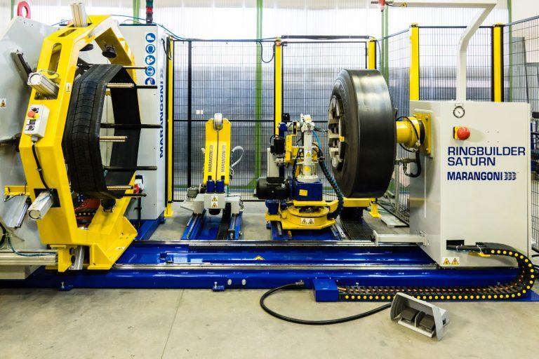 Marangoni unveil groundbreaking new equipment and process for medium-size retreaders