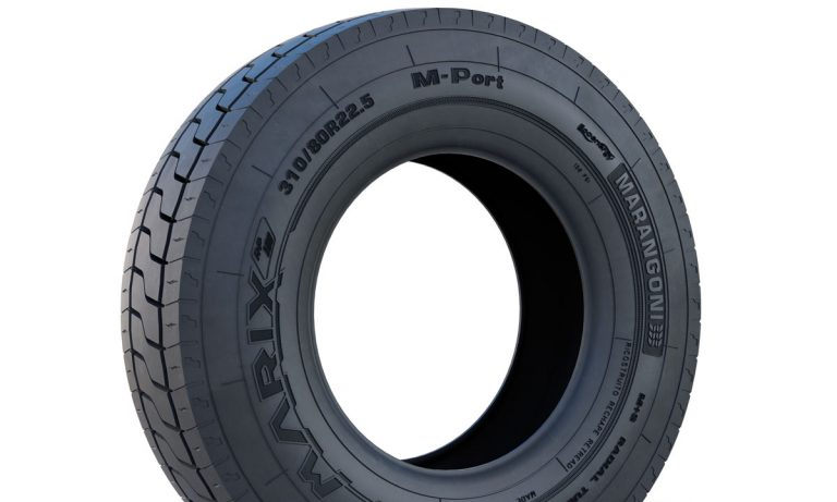 Marix M-Port: Marangoni presents the new retreaded tyre for port use